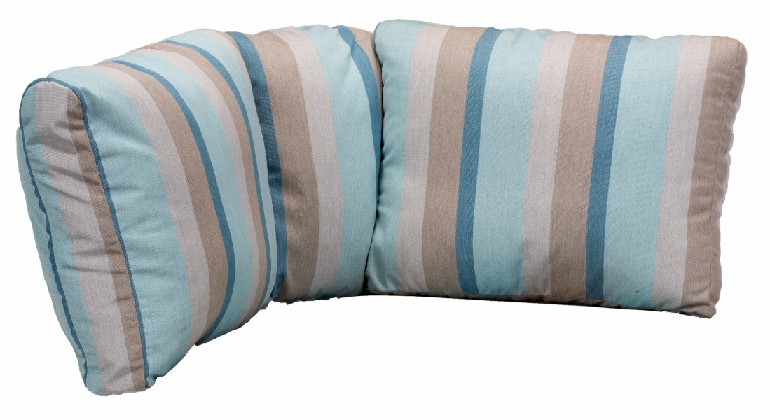 Berlin Gardens Classic Terrace Corner Section Back Cushion (Fabric Group A)