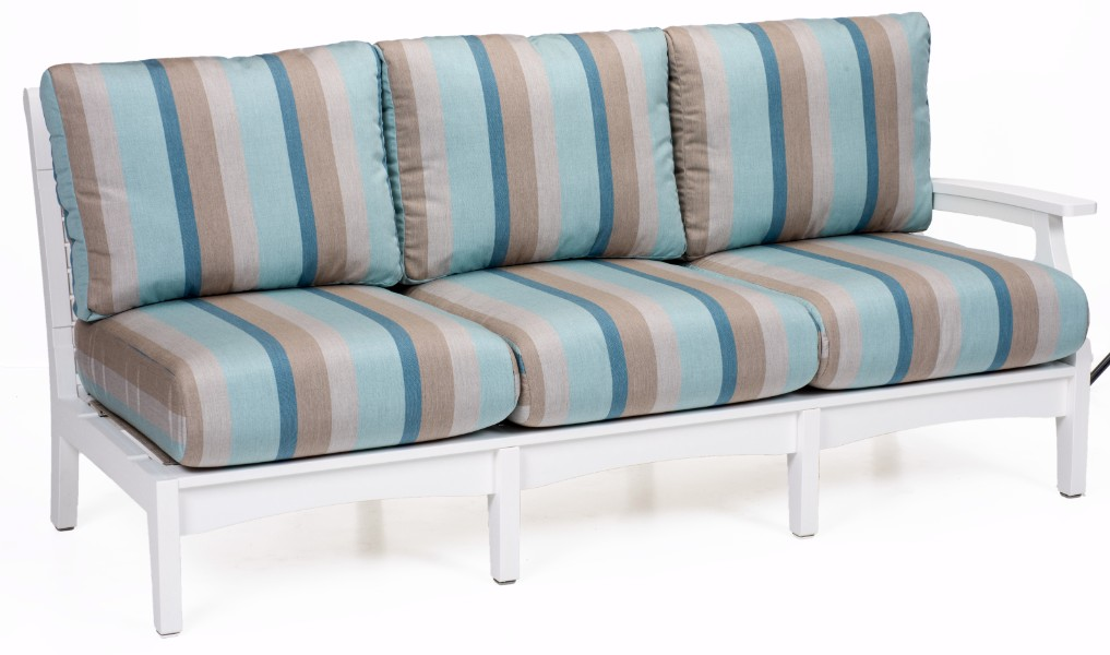 Classic Terrace Left Arm Sectional Sofa (Fabric Group A)