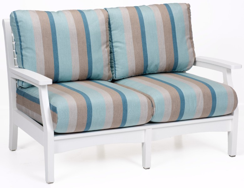 Berlin Gardens Classic Terrace Loveseat (Fabric Group C)