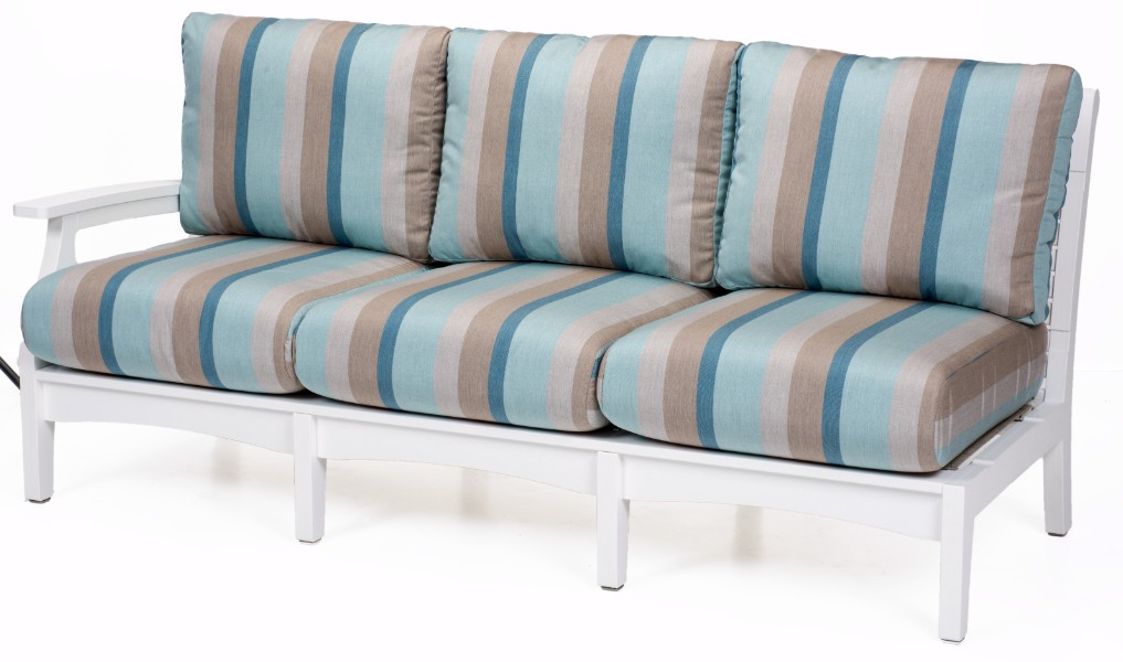 Berlin Gardens Classic Terrace Right Arm Sectional Sofa (Fabric ...