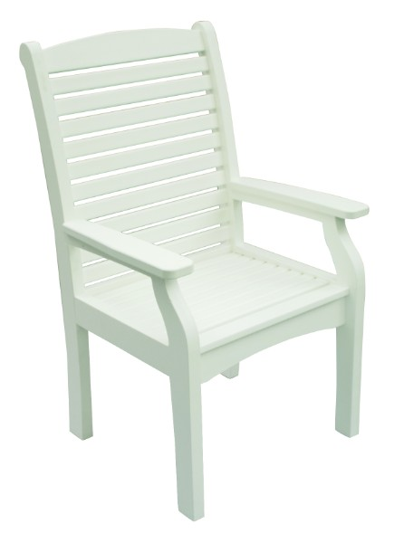 Berlin Gardens Classic Terrace Dining Chair (Natural Finish)