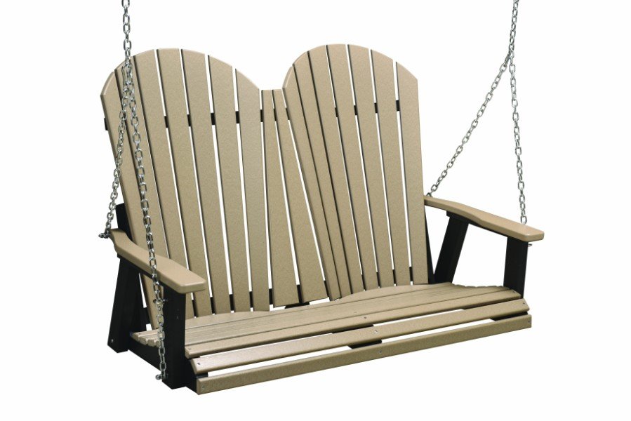 Berlin Gardens Comfo-Back Double Swing (Stainless Steel Chains)