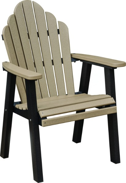 Cozi-Back Dining Height Chair (Natural Finish)