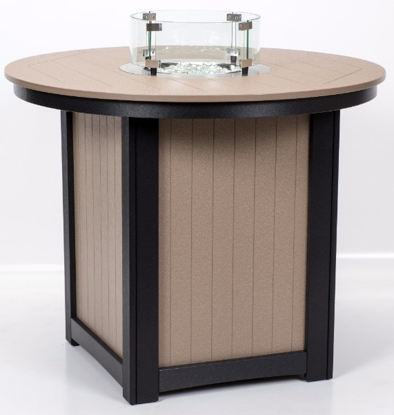 Donoma Fire Table with Poly Top