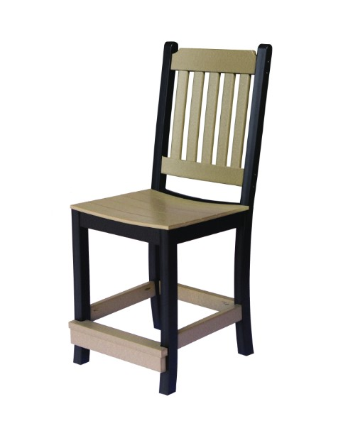 Berlin Gardens Garden Mission Counter Chair (Natural Finish)