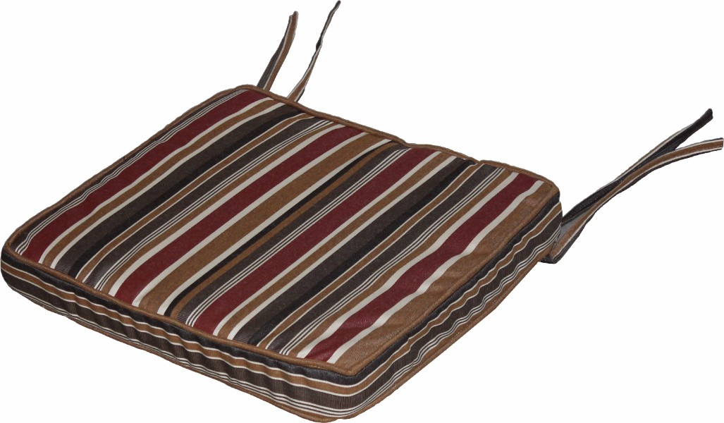 Berlin Gardens Mission Chair Seat Cushion (Fabric Group A)