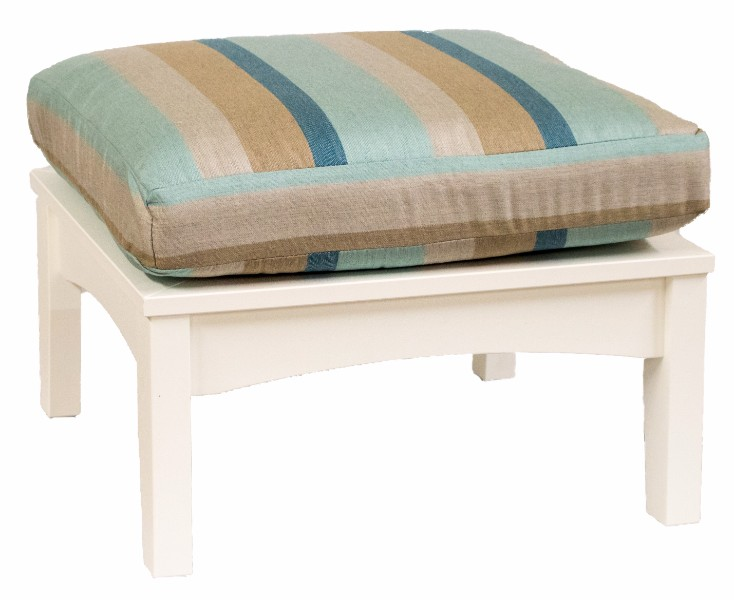 Classic Terrace Ottoman (Fabric Group A)